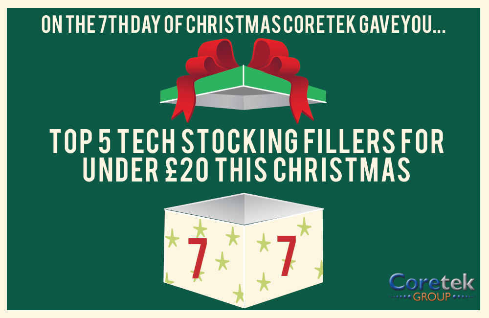 Top 5 tech stocking fillers for under £20 this Christmas
