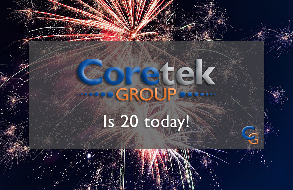 Today is Coretek's 20th Birthday!