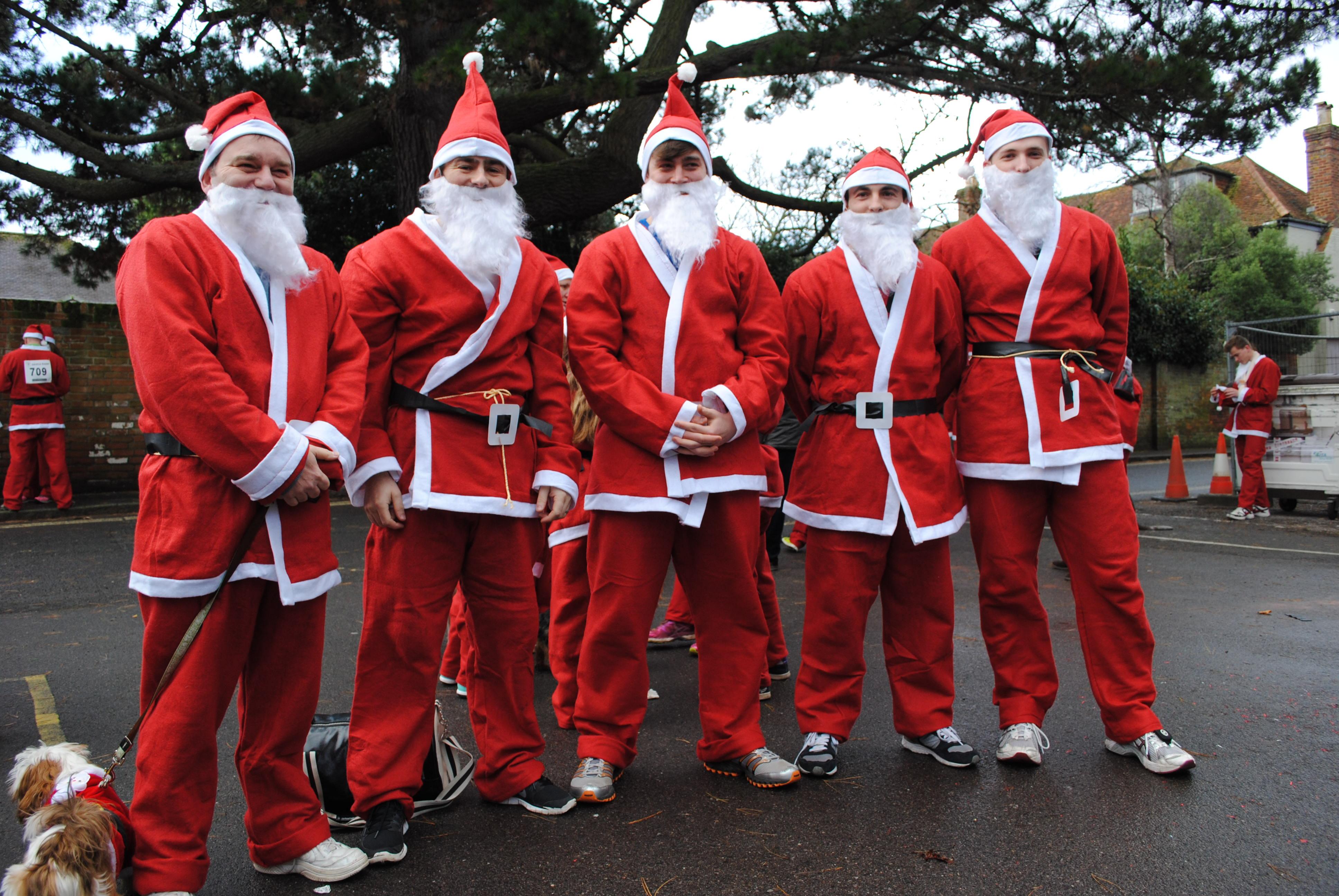 Dashing for Santa!