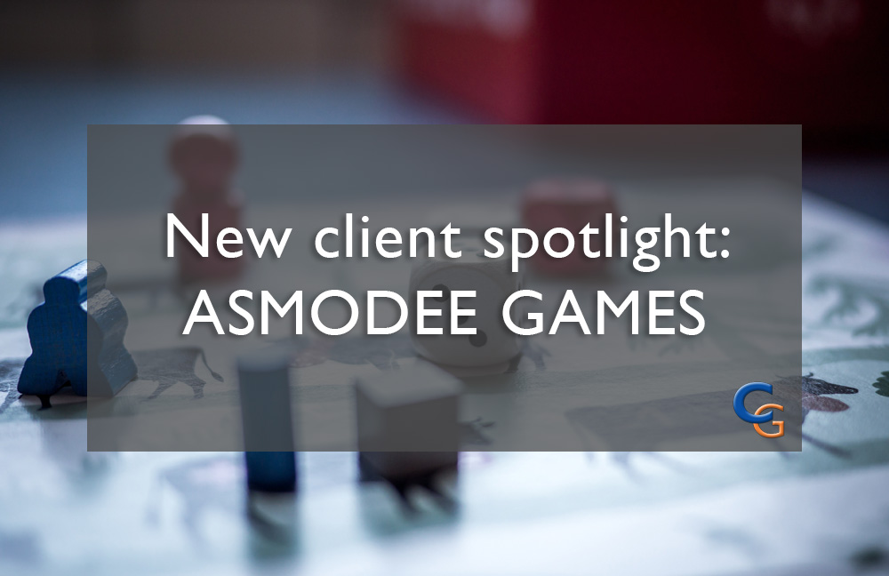 New Client Spotlight: Asmodee Games