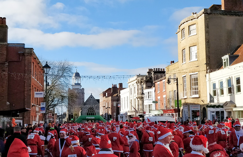 Coretek making another (Santa) dash for charity!