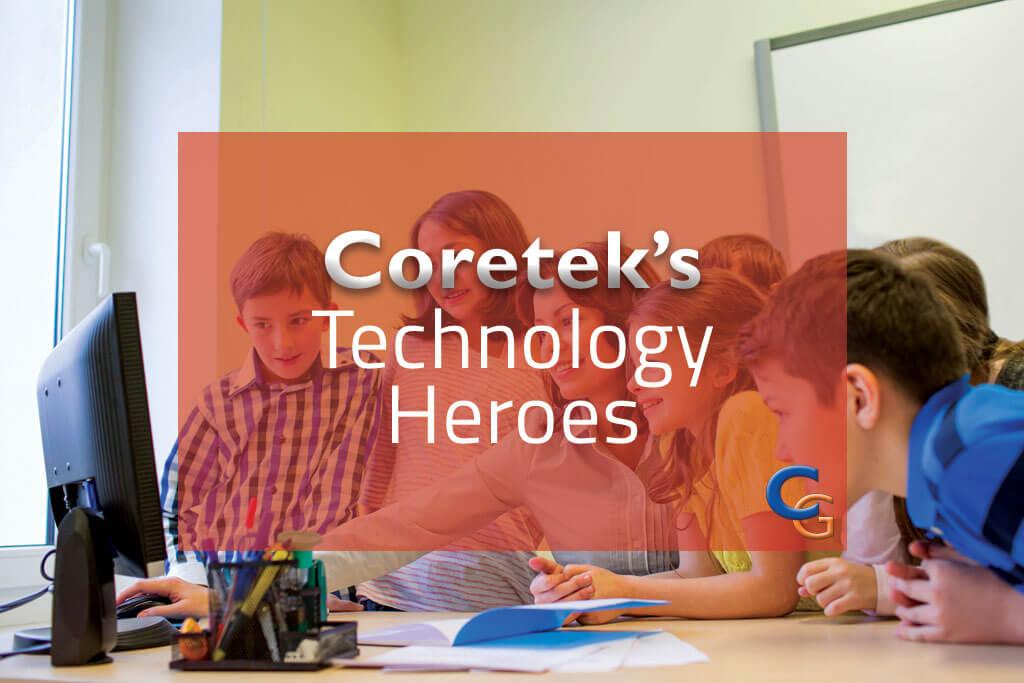 "Congratulations to our first ""Technology Heroes"" – The Oaks CE Learning Federation!"