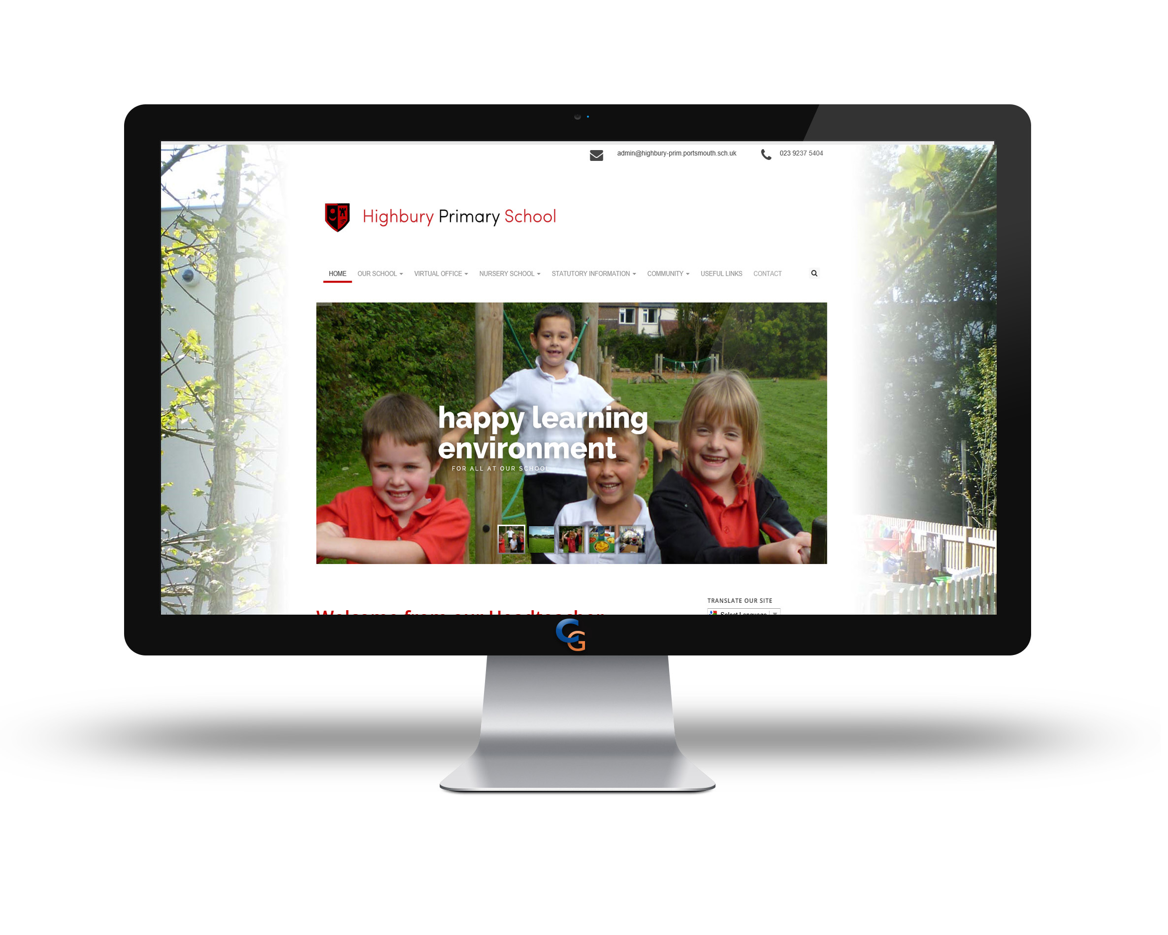 Did you know that Coretek can design your website for you?