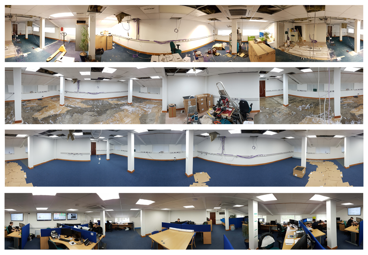 Take a look at our recently renovated Coretek offices!